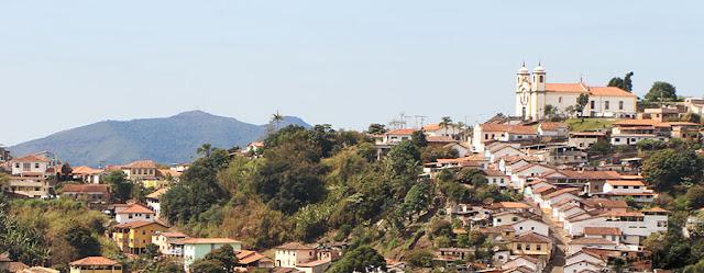 Igreja de Santa Efigência, Ouro Preto, Minas Gerais