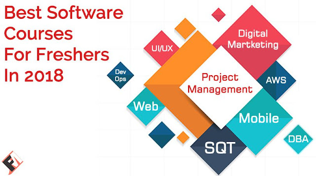 Top 10 Trending Career Oriented IT Courses For Fresher in 2018