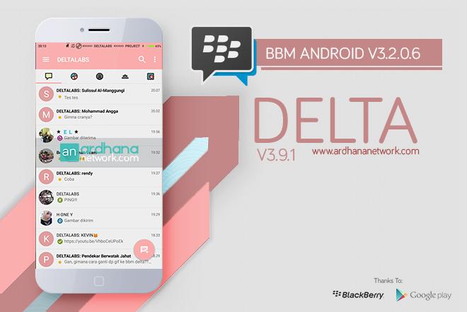 Delta BBM V3.9.1 - BBM MOD Android V3.2.0.6