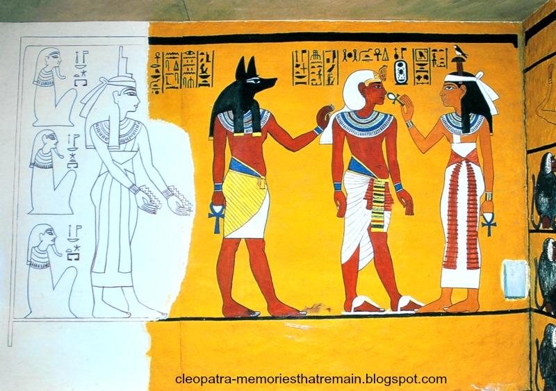 Ubiór faraona w Egipcie