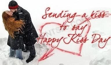 Kiss Day Messages Image