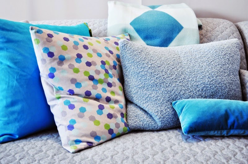 Jewel cushions from Couch Design Bristol