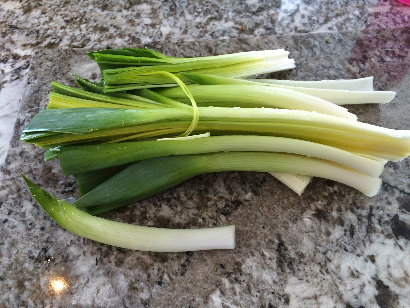 leeks for Potato, Leek and Bacon Soup