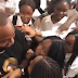 [VIDEO] Watch moment Davido was rushed when he visited British International school