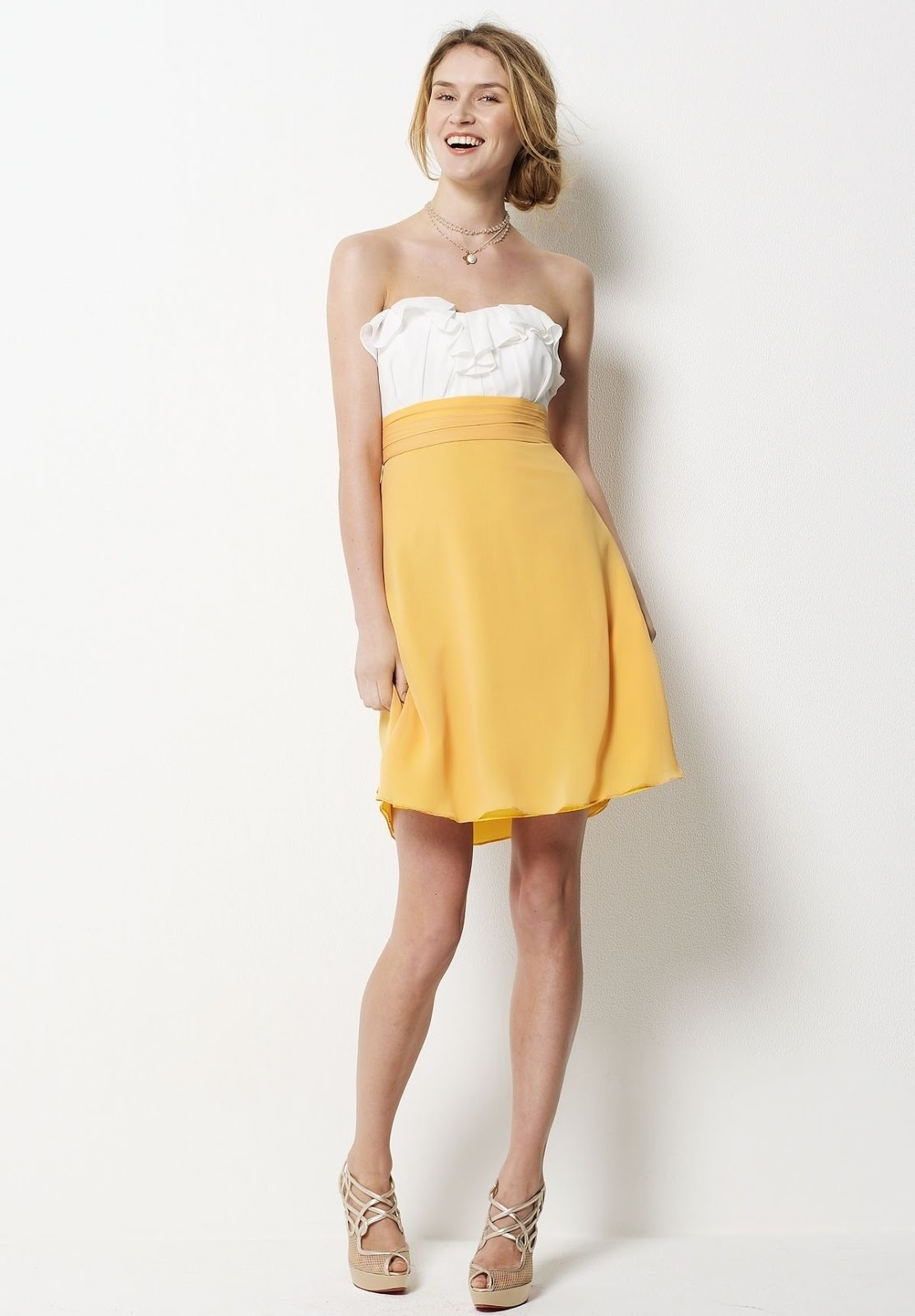 Whiteazalea Bridesmaid Dresses Bright Yellow Bridesmaid Dress