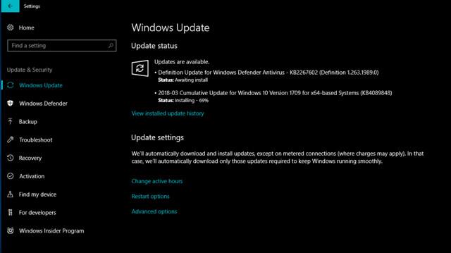 كيف يمكن إيقاف التحديث التلقائي لويندوز Windows 10 Spring Creators