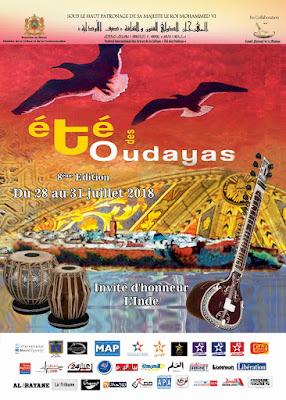 """Festival International des Arts et de la Culture """"Été des Oudayas"""""""