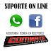 Grupos de suporte no Facebook e Whatsapp