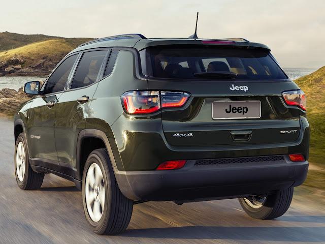 Jeep Compass 2018 Flex 4x4 - preço e consumo