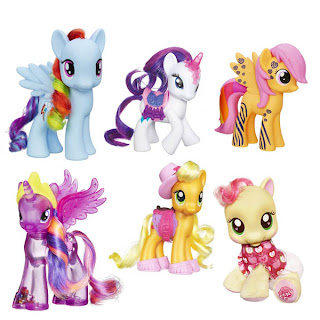 All MLP G4 Brushables Ponies