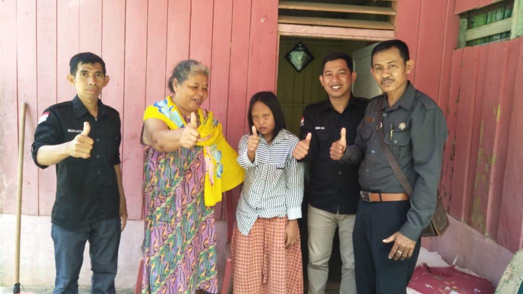 Panwaslu Kecamatan Baolan Upayakan Kenyamanan Pemilh Disabilitas Dalam Pemilu 2019