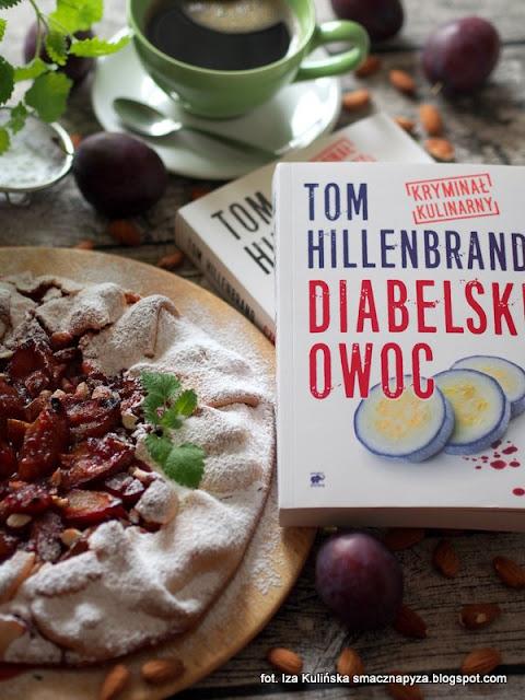 kryminal kulinarny, diabelski owoc, czerwone zloto, tom hillenbrand, ksiazki na zimowe wieczory, przyjemna lektura, konkursy