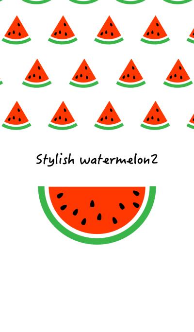 Stylish watermelon 2!