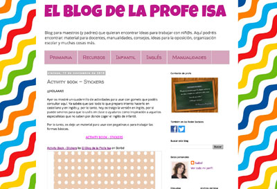 El blog de la profe Isa