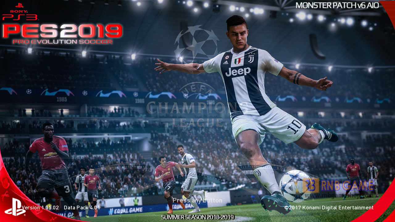 Download PES 2018 Season 2019 Monster Patch v6 AIO