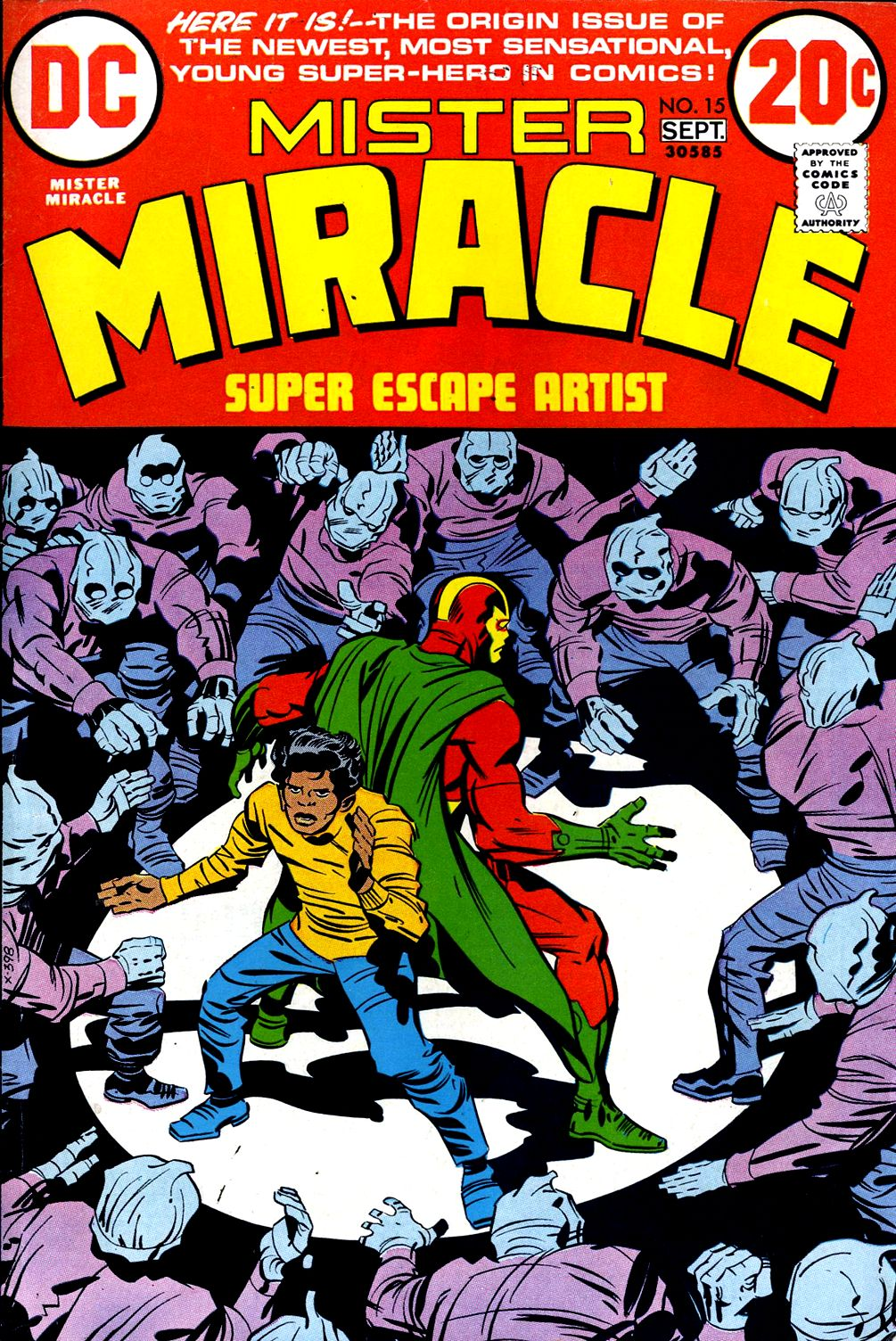 Mister Miracle (1971) issue 15 - Page 1