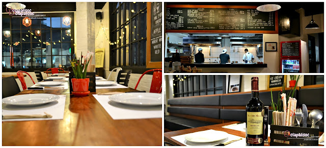 Hai Chix and Steaks interiors