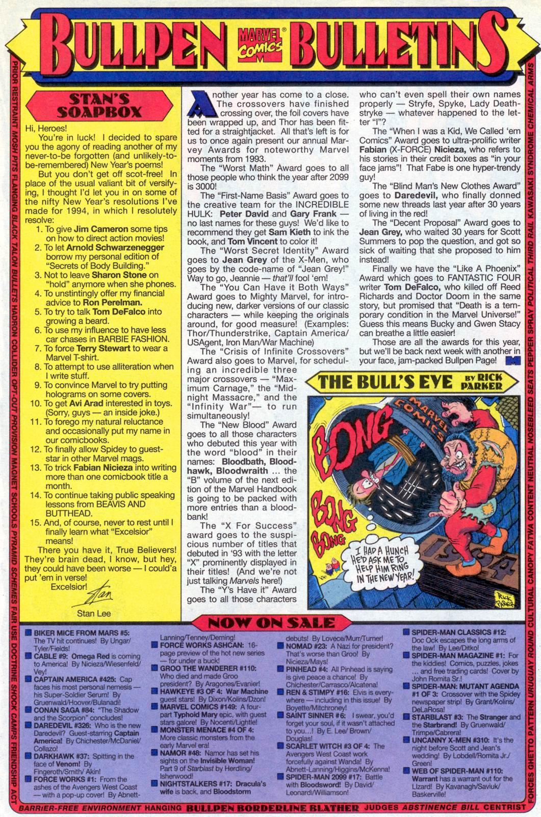 Hawkeye (1994) Issue #3 #3 - English 22