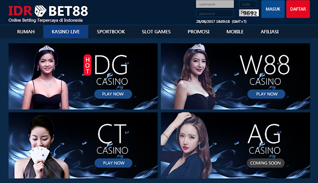 Strategi Main Casino di Idrbet88.com