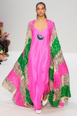 London Fashion Week 2017 : Model displaying Masaba Gupta Collections