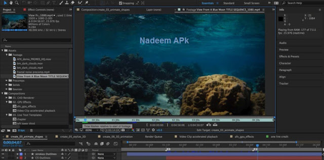 Adobe After Effects CC 2018 Crack Full Download