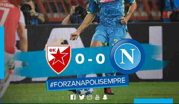 Hasil Red Star Belagrade vs Napoli Skor Akhir 0-0