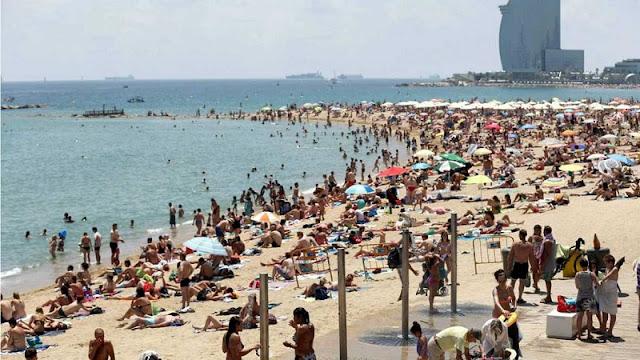 Agosto em Barcelona