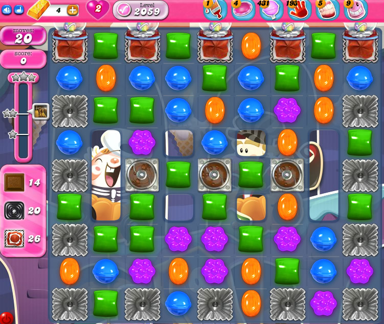 Candy Crush Saga 2059
