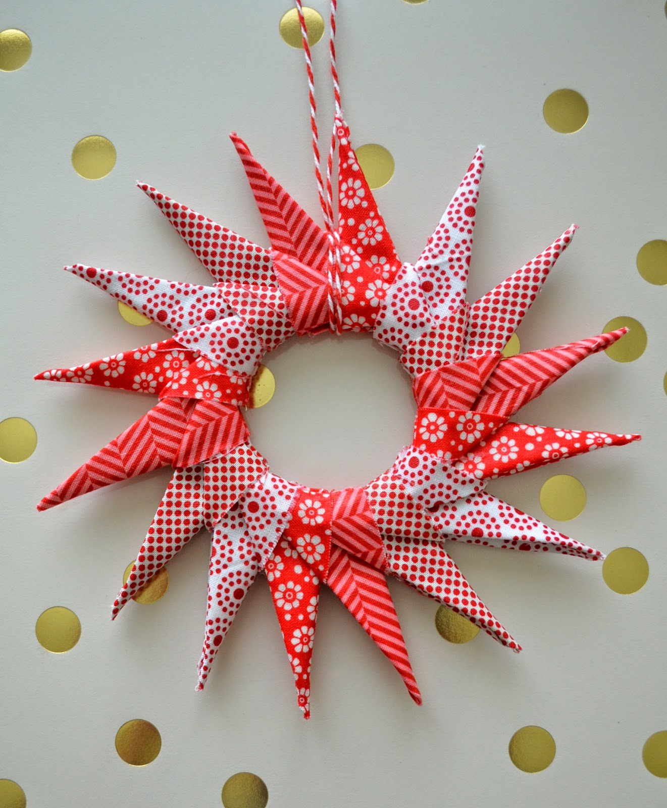 Origami Star Ornament Tutorial U Create