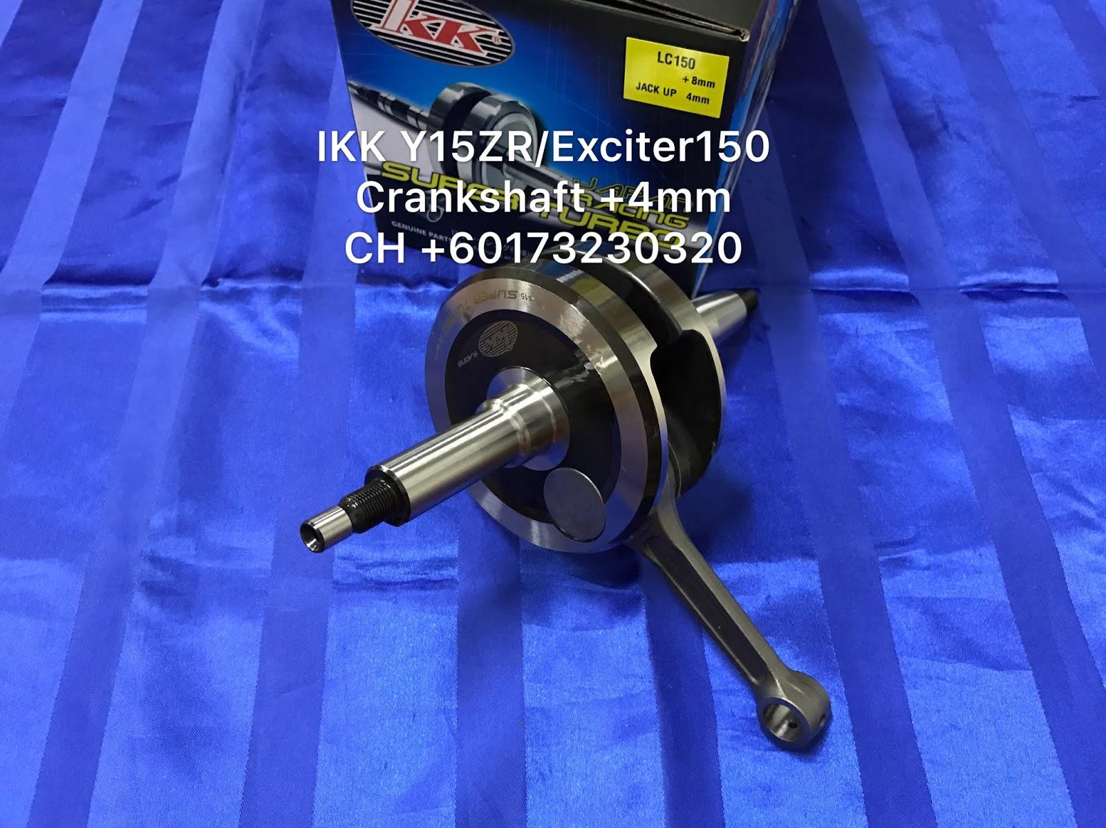 CH Motorcycle Store: IKK Y15ZR Crankshaft +4mm