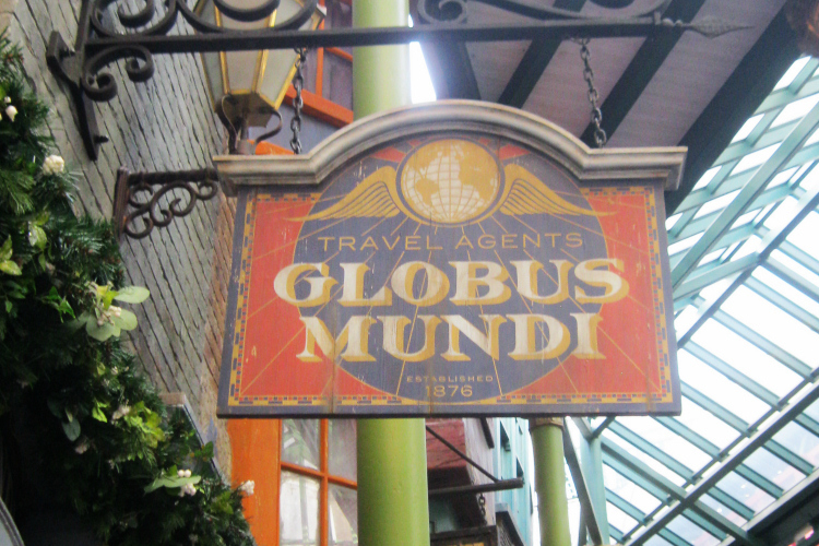 Globus Mundi Wizarding World of Harry Potter Orlando
