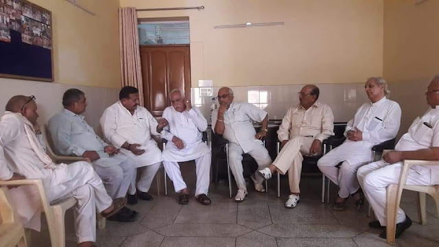 Organizing a meeting of Brahmin organizations in Faridabad, demand for the formation of a Brahmin Commission