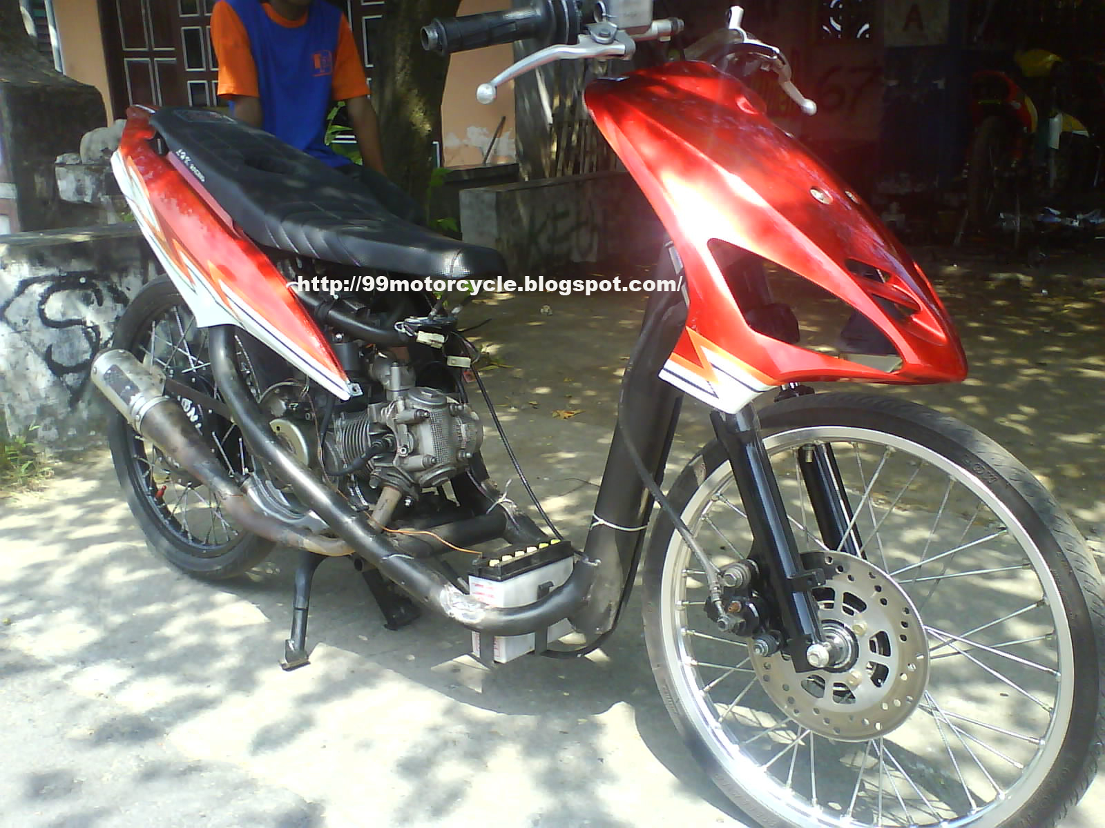 Rx King Sepeda Drag 10 Modifikasi motor 6 Motorcycles Mio Modification To Drag x