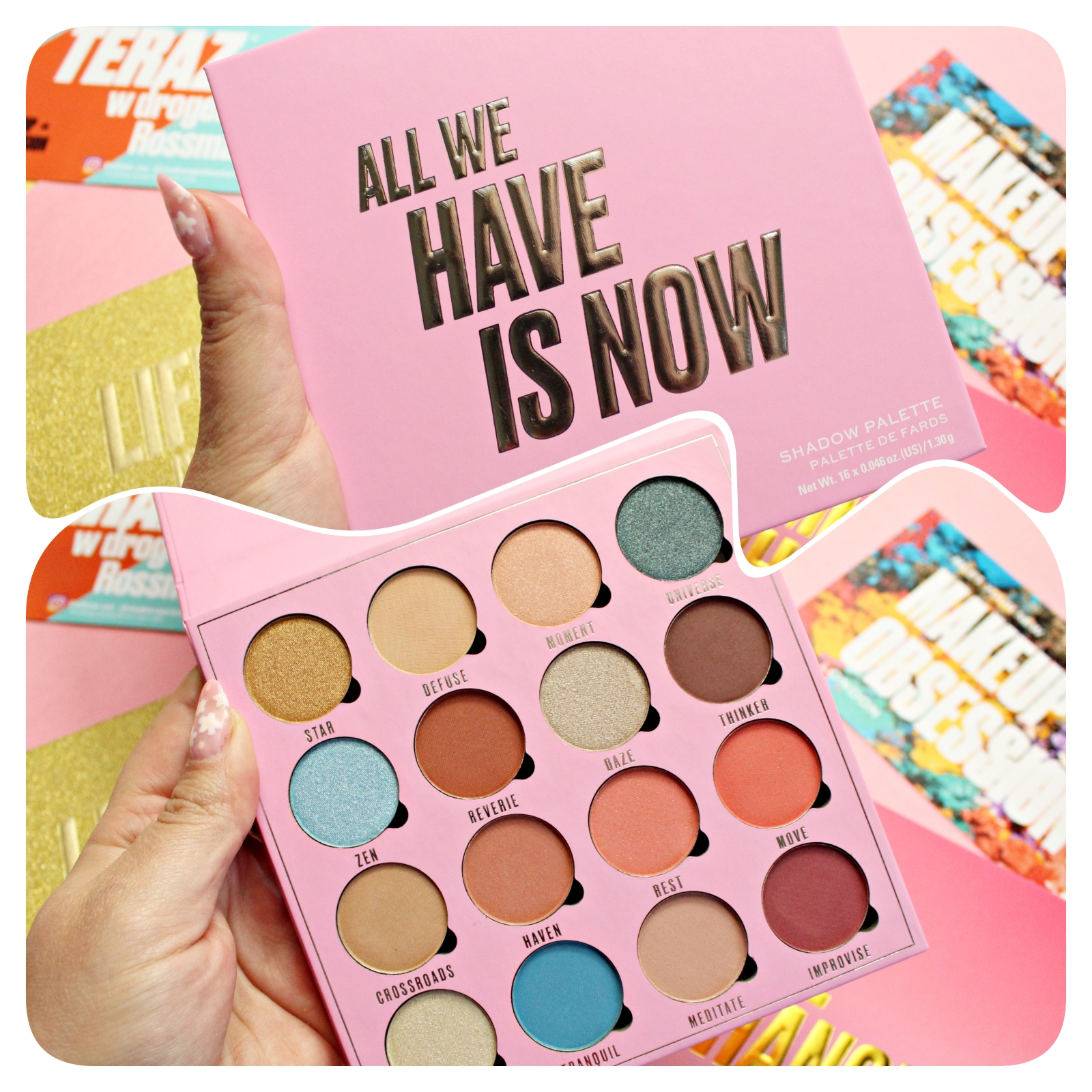 Makeup Obsessiom All We Have is Snow Eyeshadow Palette