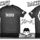 jas exclusive t shirt crows zero  housen (h 1) 95k