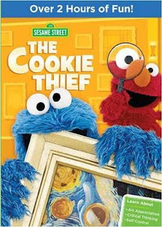 Enter the Sesame Street: The Cookie Thief DVD Giveaway. Ends 3/22