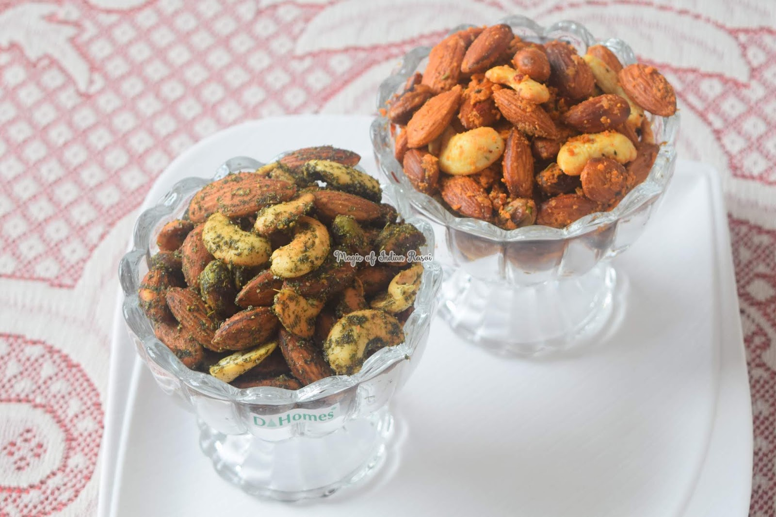 Masala Mint & Italian Herbs & Cheese Flavoured Dry Fruits Recipe - 1