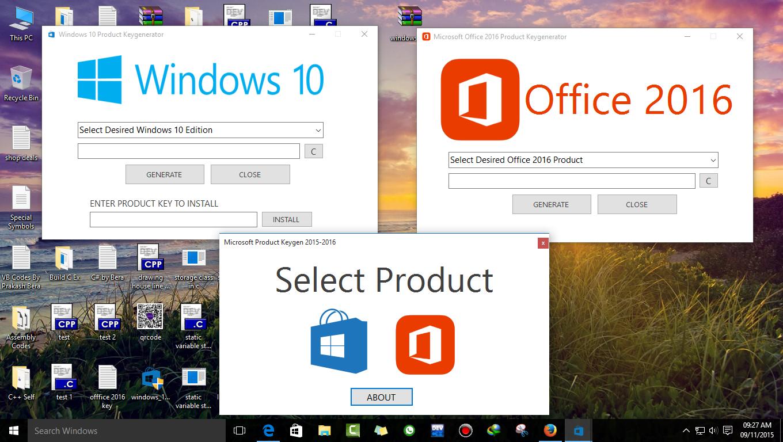 Windows 10 office 2016 product keygen 2015 2016 mr for Windows official website