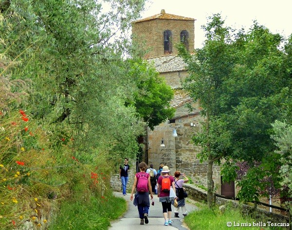 Turisti nel Valdarno