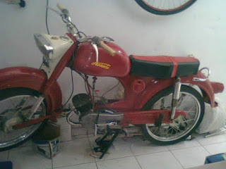 Forsale Victoria 50cc 1961 Full Paper Bawaan