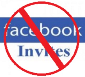 How to block invites on facebook