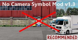 ets 2 no camera symbol mod v1.3