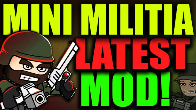 Mini Militia Pro Pack & All Store Items Pre Purchased Mod 4.0.36