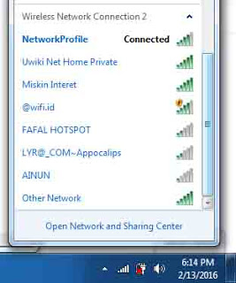 SSID @wifi.id Tanpa Password