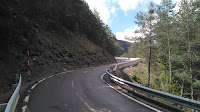 Curvas y pendiente en los últimos kms de Cotefablo