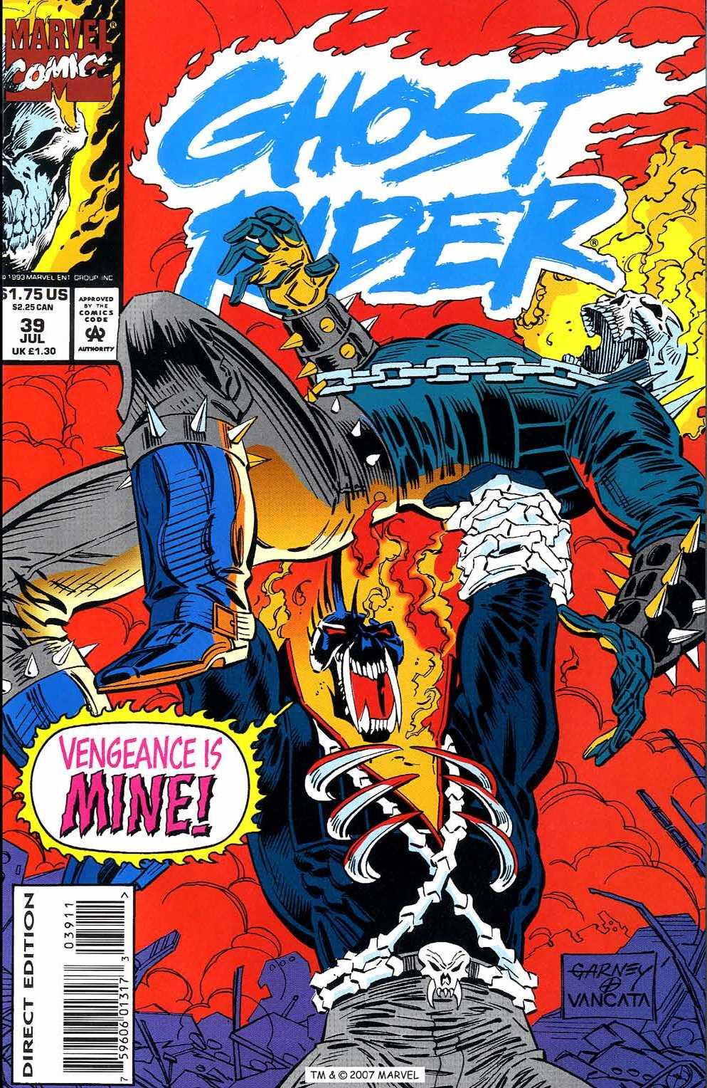 Ghost Rider (1990) 39 Page 1