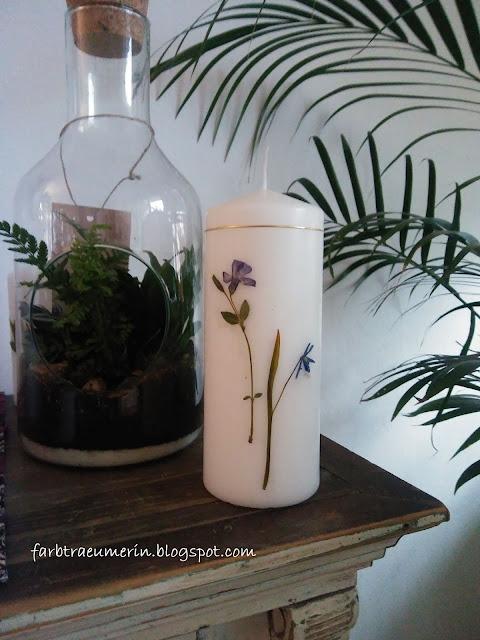 diy-kerze-mit-blueten-und-pflanzen-candle-with-pressed-flowers-and-plants