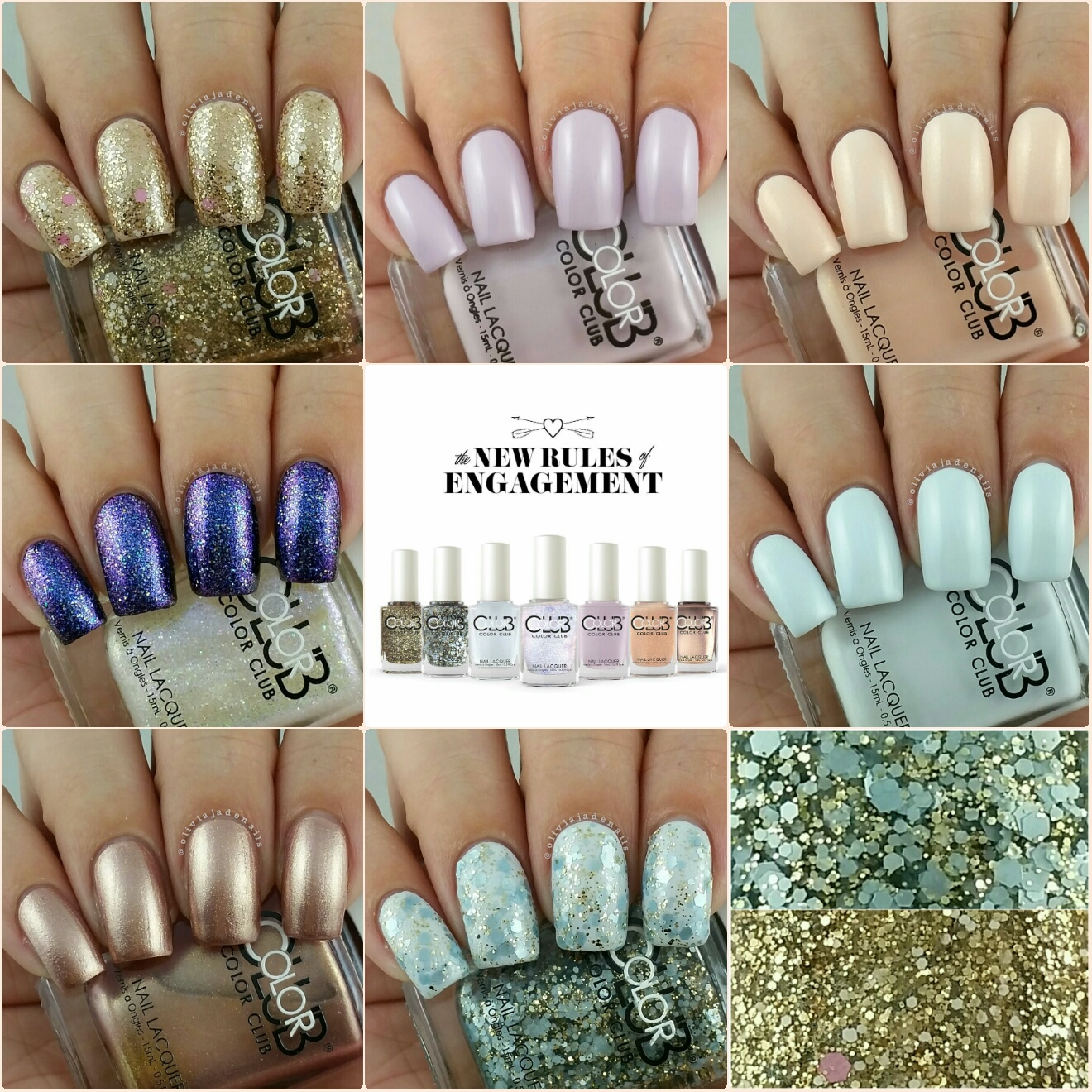 Olivia Jade Nails: Color Club New Rules Of Engagement Collection ...