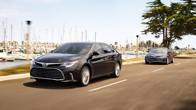 Toyota avalon 2018 fiche technique