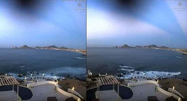 Strange Blue Beam in the sky over Mexico points to holographic laser technology?  Blue%2Bbeam%2Bholographic%2Blaser%2Btechnology%2B%25281%2529